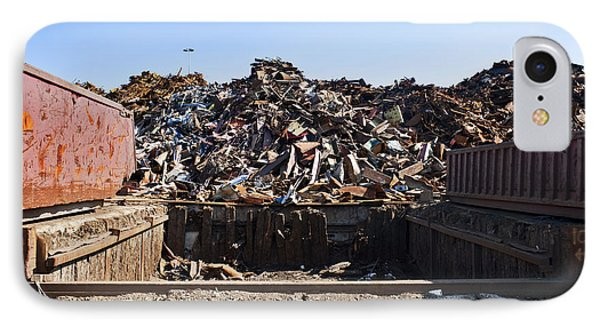 Recycle Dump Site Or Yard For Steel Phone Case by Corepics