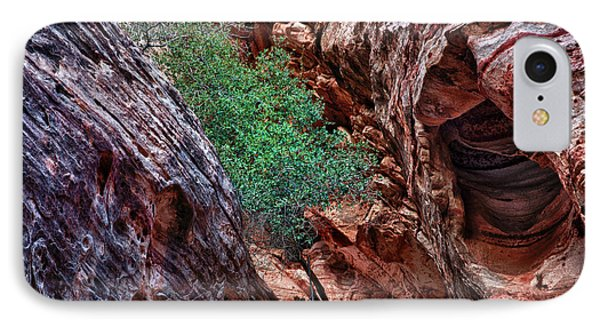 Red And Green Phone Case by Rick Berk