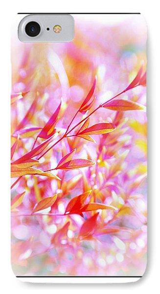 Red And Yellow Leaves Phone Case by Judi Bagwell