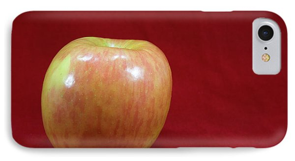 IPhone Case featuring the photograph Red Apple by Michael Waters