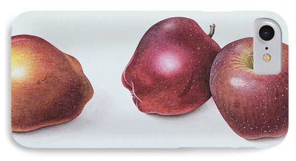 Red Apples IPhone 7 Case by Margaret Ann Eden