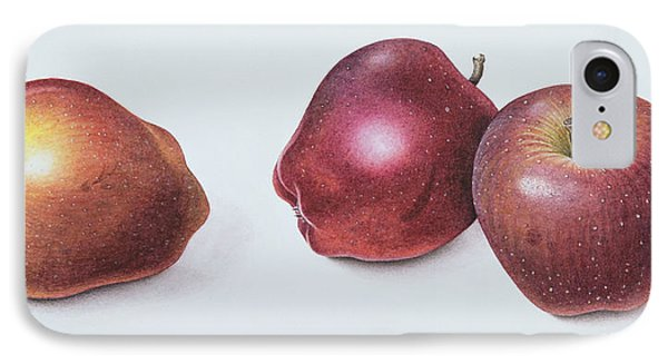 Red Apples IPhone Case by Margaret Ann Eden