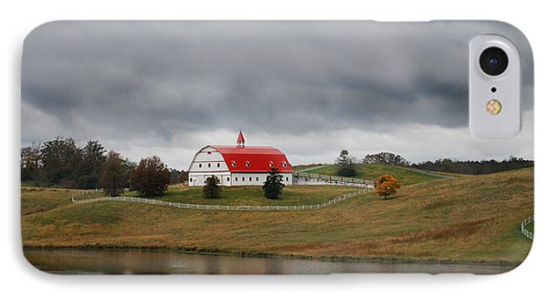 Red Barn IPhone Case by Maggy Marsh