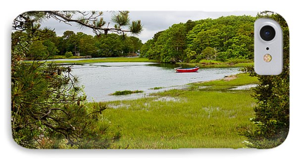 Red Boat Chatham Cape Cod IPhone Case