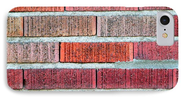 Red Brick Wall IPhone Case by Henrik Lehnerer