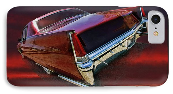 Red Cadillac Phone Case by Blake Richards