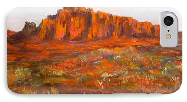 Red Cliffs Phone Case by Jack Skinner