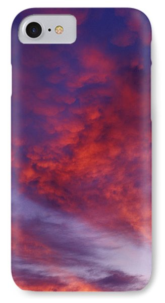 Red Clouds Phone Case by Garry Gay