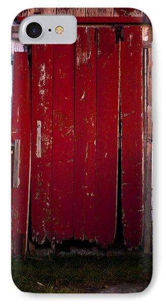 Red Door Phone Case by Cale Best