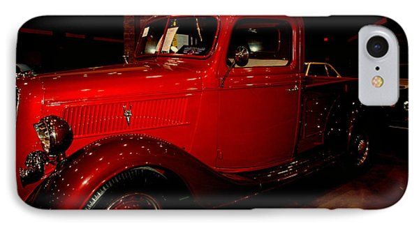 Red Ford Truck Phone Case by Susanne Van Hulst