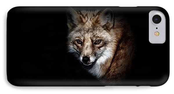 Red Fox Phone Case by Karol Livote