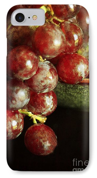 Red Grapes Phone Case by Darren Fisher