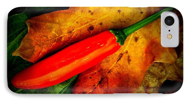 Red Hot Chili Pepper Phone Case by Chris Berry