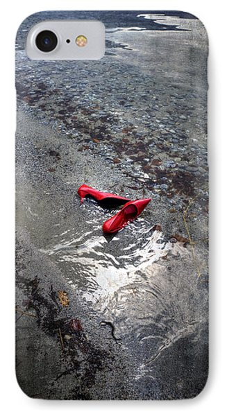Red Is Swimming Phone Case by Joana Kruse