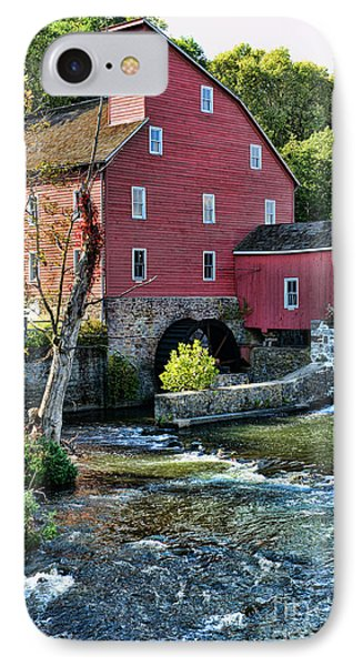 Red Mill On The Water IPhone Case by Paul Ward