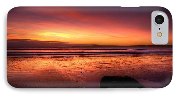 Red Morning Phone Case by Svetlana Sewell