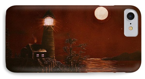 Red Night Phone Case by Barbara Griffin