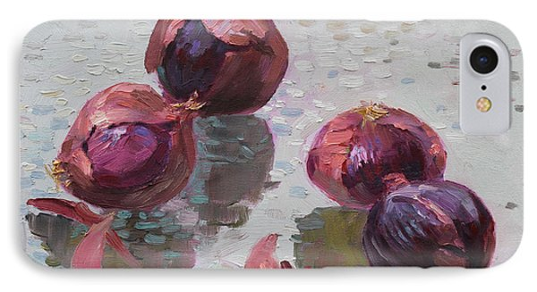 Red Onions IPhone 7 Case by Ylli Haruni