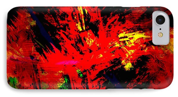 Red Planet Phone Case by Vidka Art