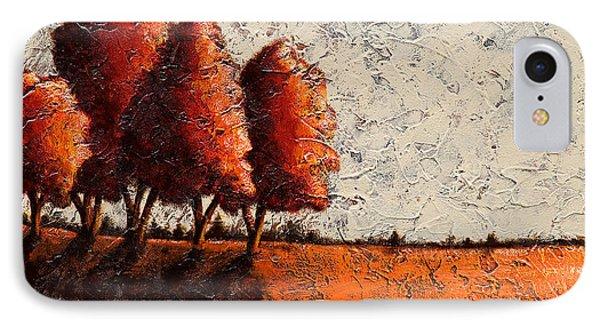 Red Quartet  IPhone Case by Mauro Celotti