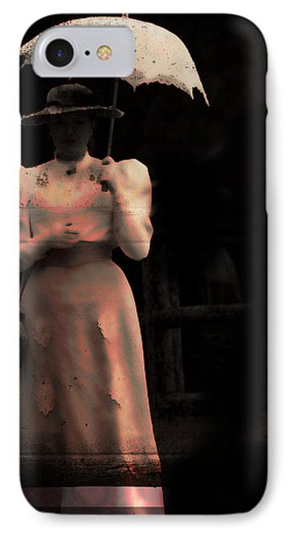 Red Rain  Phone Case by Empty Wall