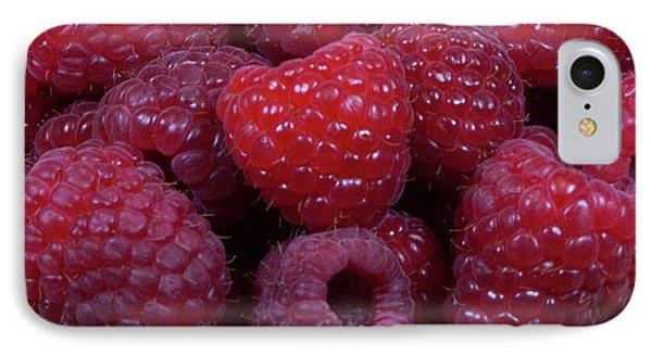 Red Raspberries Phone Case by Michael Waters