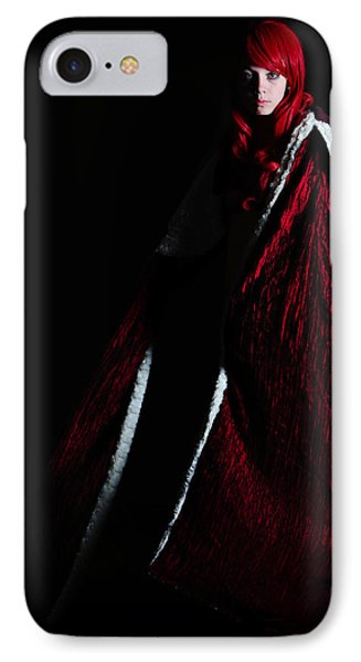Red Riding Hood IPhone Case by Jim Boardman