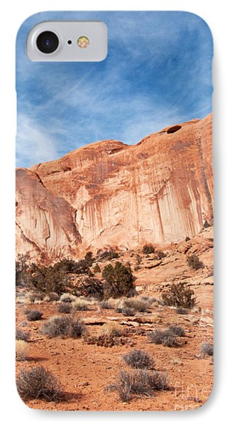 Red Rock And Blue Skies 2 Phone Case by Bob and Nancy Kendrick