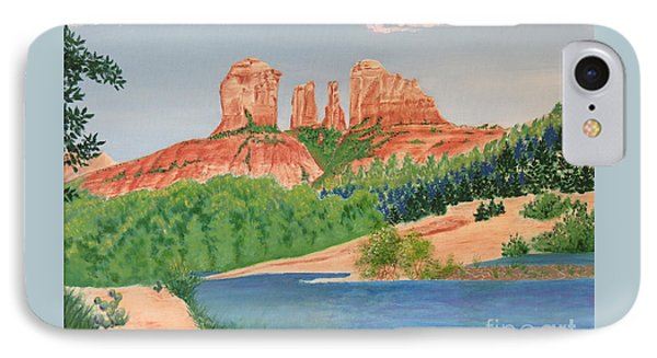 Red Rock Crossing Phone Case by Aimee Mouw