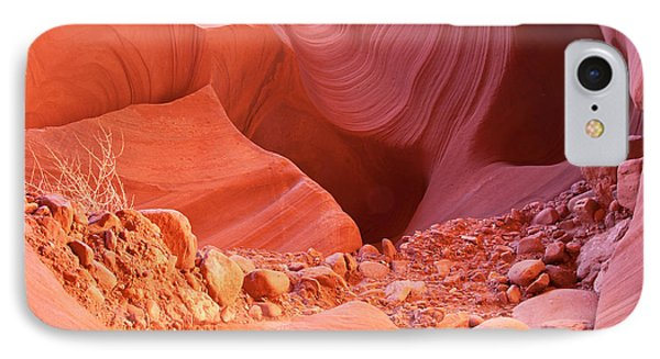 Red Rock Gems Phone Case by Bob and Nancy Kendrick