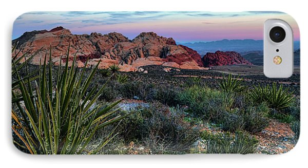 Red Rock Sunset II IPhone Case