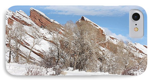 Red Rocks IPhone Case by Angelique Olin