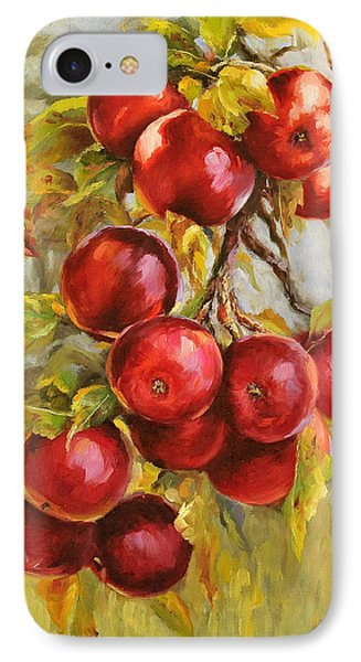 Red Russian IPhone Case by Katherine Tucker