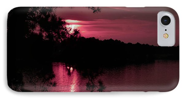 Red Sky At Night IPhone Case by Shannon Harrington