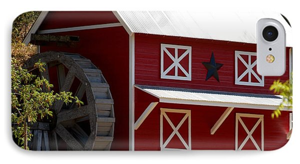Red Star Barn IPhone Case
