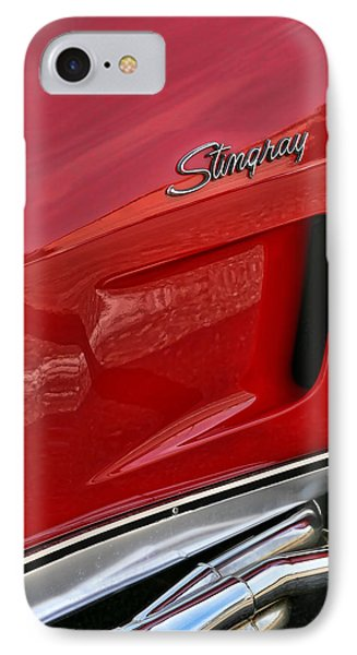 Red Stingray IPhone Case by Gordon Dean II
