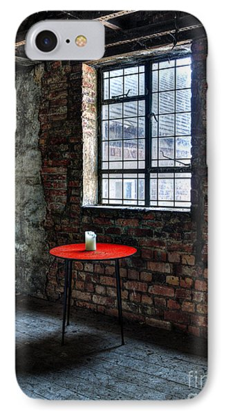 Red Table Phone Case by Steev Stamford