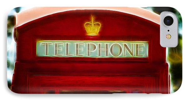 Red Telephone Box Phone Case by Chris Thaxter