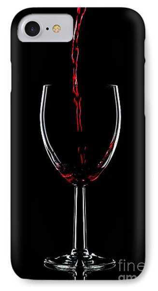 Red Wine Pouring Phone Case by Richard Thomas