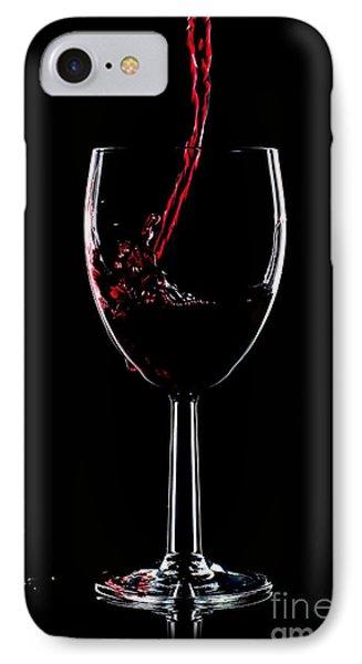 Red Wine Splash Phone Case by Richard Thomas