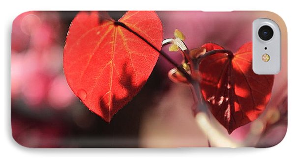 IPhone Case featuring the photograph Redbud In Spring by Scott Rackers