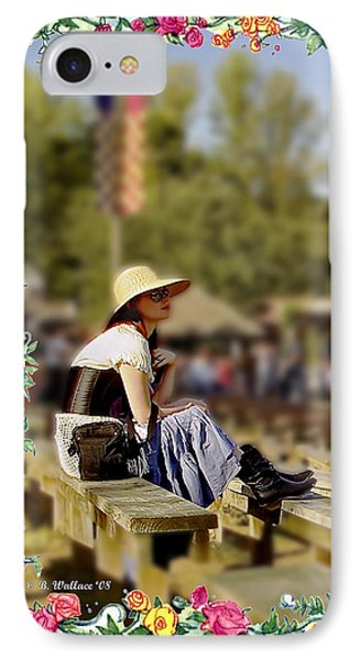 Redheaded Beauty Phone Case by Brian Wallace