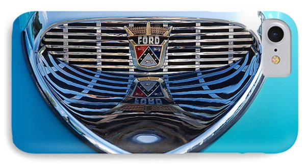 IPhone Case featuring the photograph Reflecting Ford by John Schneider