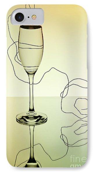 Reflection 01 IPhone Case by Nailia Schwarz