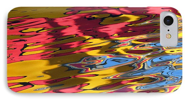 IPhone Case featuring the photograph Reflection Abstraction by Darleen Stry