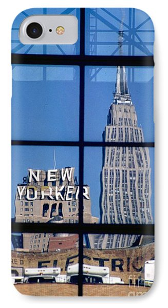 Reflection Empire State Building IPhone Case by Mark Gilman