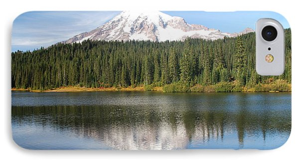 Reflection Lake - Mt. Rainier IPhone Case