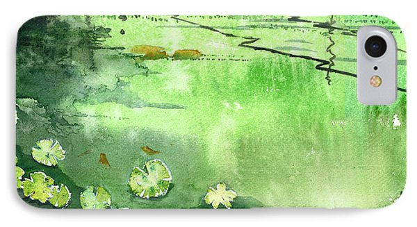 Reflections 1 Phone Case by Anil Nene