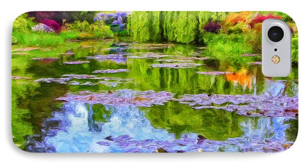 Reflections At Giverny Phone Case by Dominic Piperata