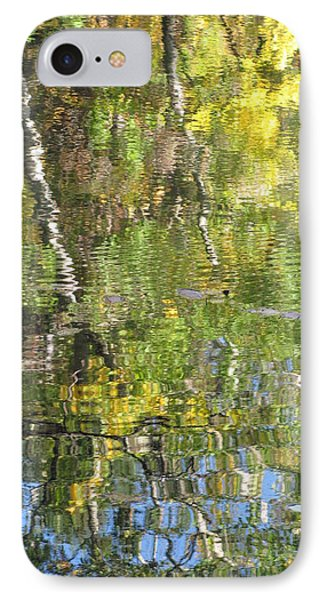 Reflections In Paradise 1 Phone Case by Anita Burgermeister